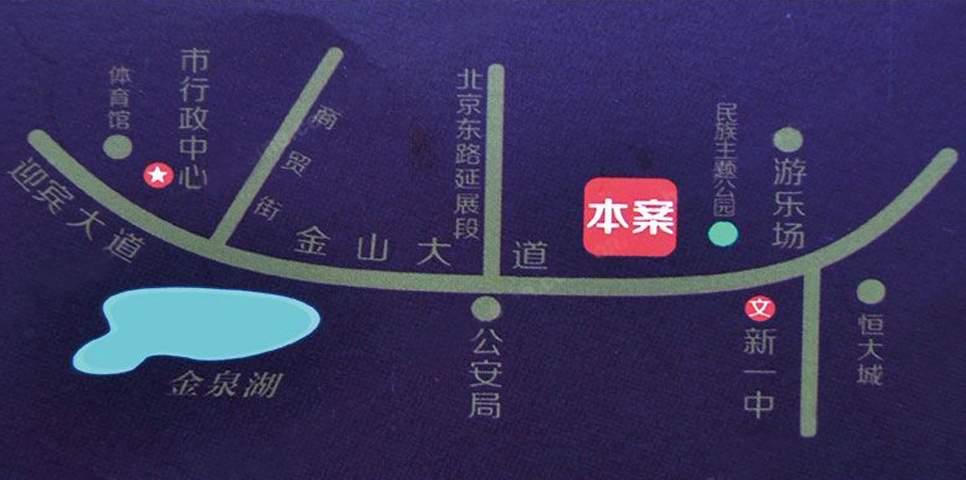 温莎美墅位置图
