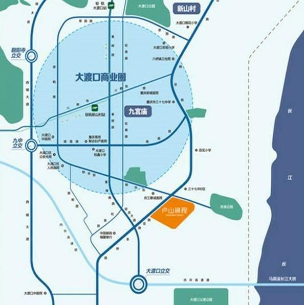 卢山锦程位置图