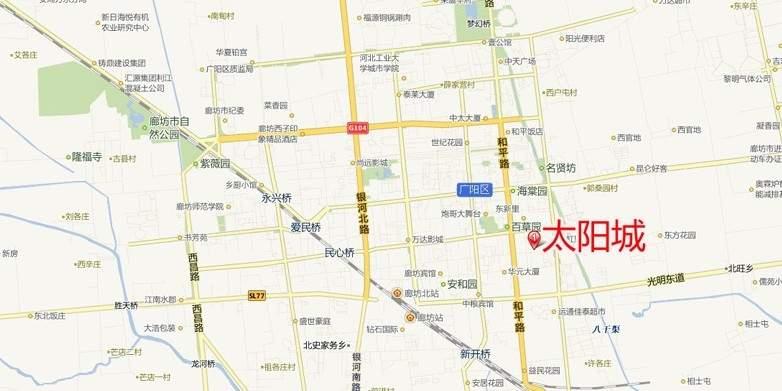 太阳城位置图