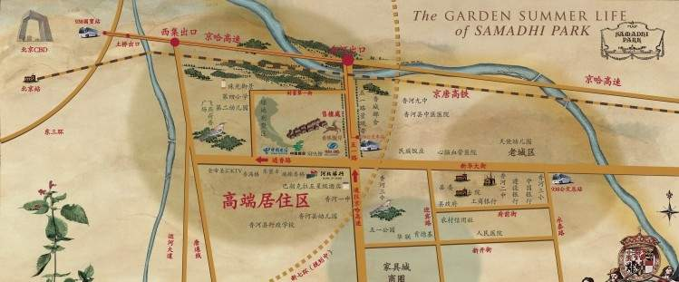 香林醍岸位置图