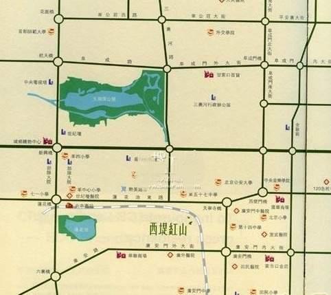 华润西堤红山(红山世家)位置图