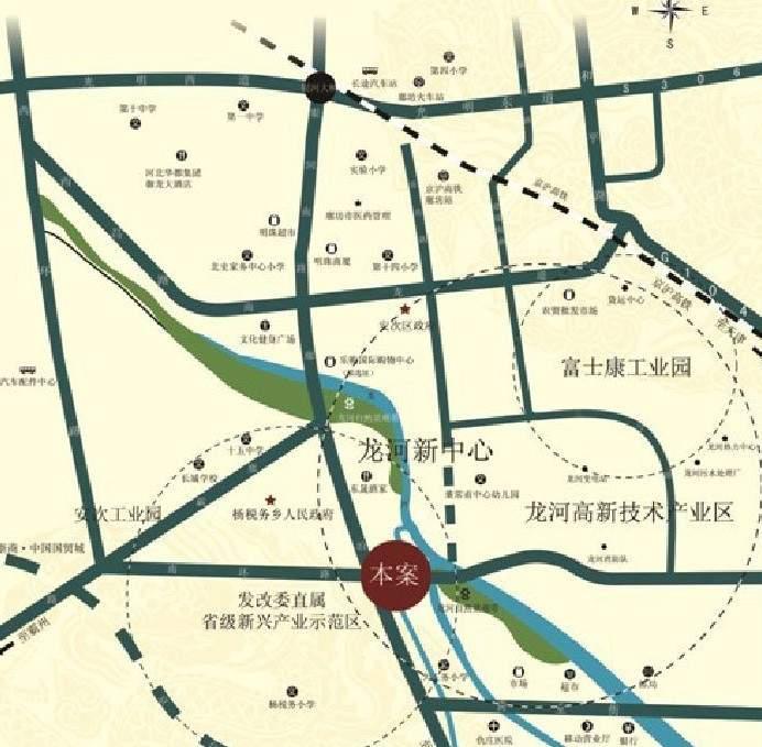 龙河福源位置图