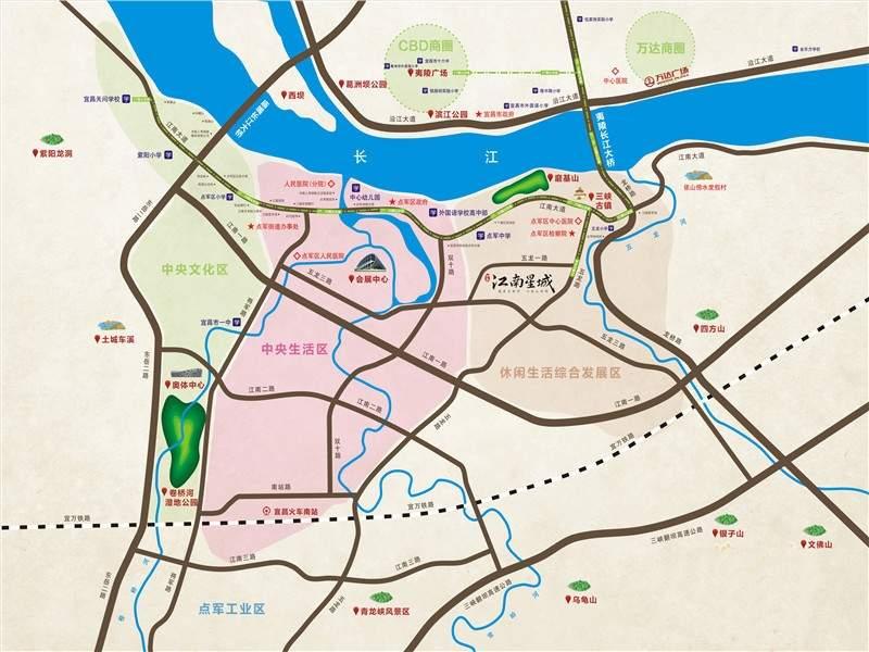 江南星城位置图