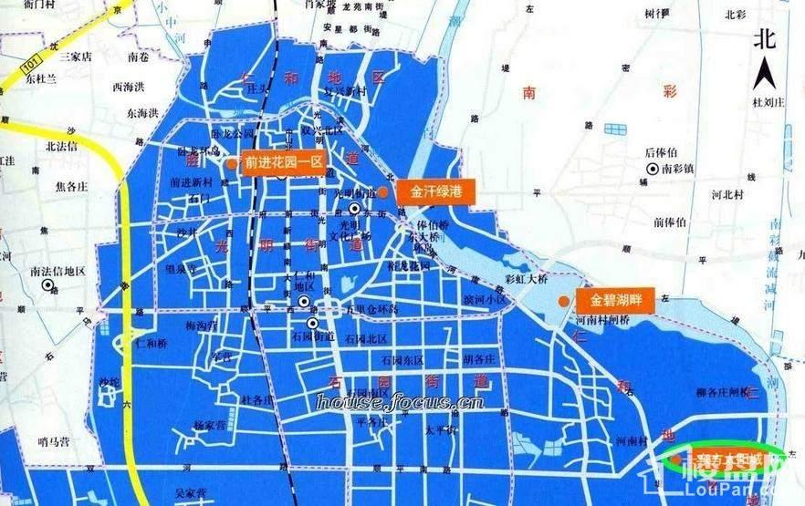 东方太阳城别墅位置图