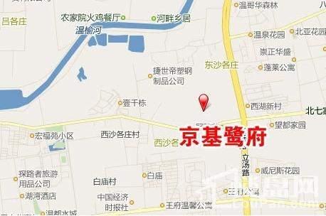 京基鹭府位置图