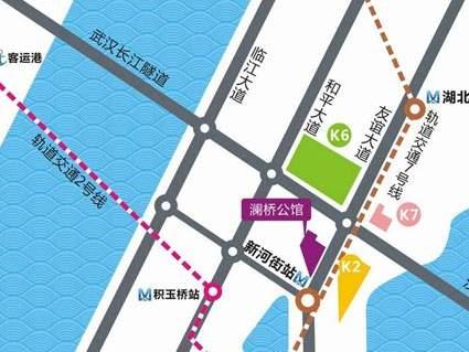 福星惠誉水岸国际澜桥公馆位置图