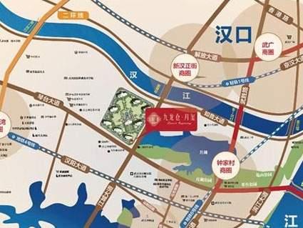 九龙仓月玺位置图