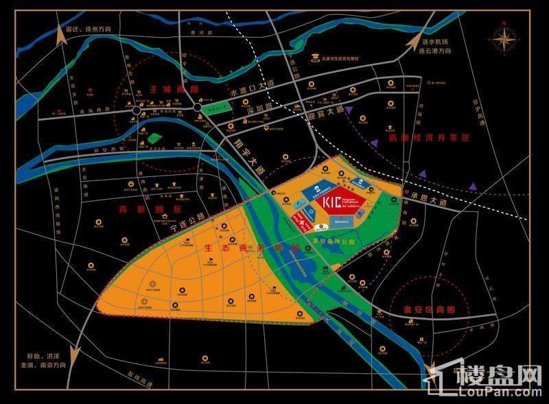 金奥国际中心位置图