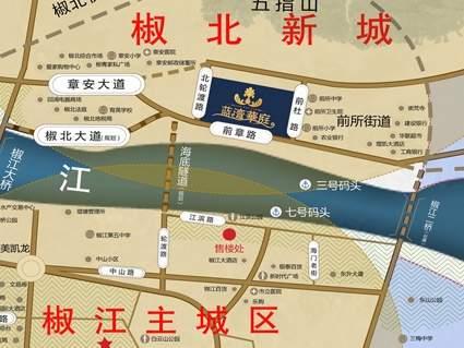 蓝湾华庭位置图