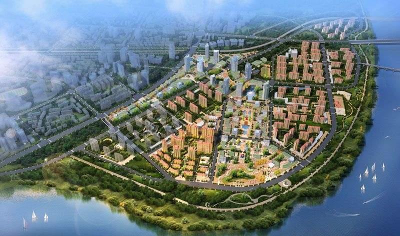 中南·世纪城效果图