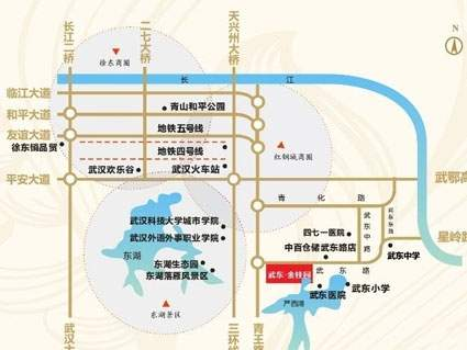 武东金桂园位置图