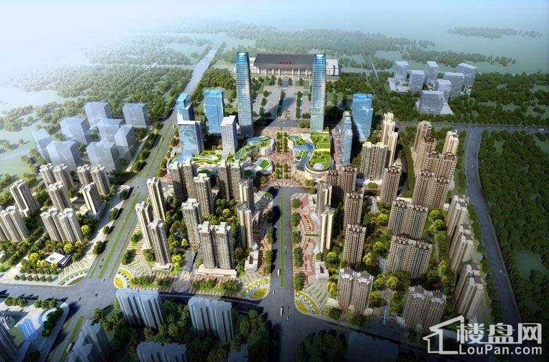 绿地城效果图