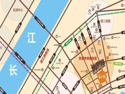 金地自在城位置图