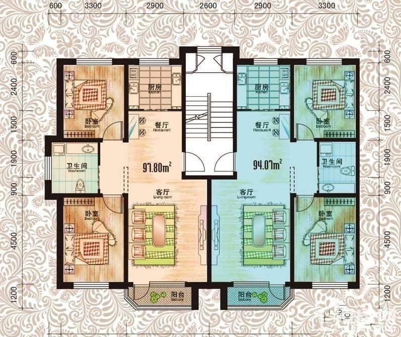 长春荣城户型图