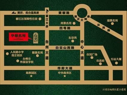 华景名苑位置图