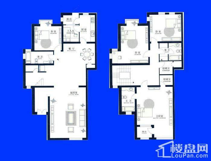 别墅6A户型