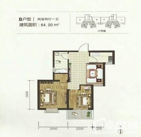 建工凤凰城户型图