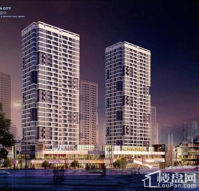 铜仁麒龙国际会展城实景图