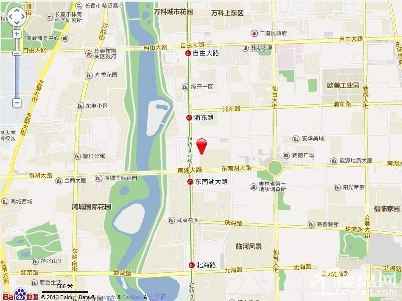 中海金阶位置图