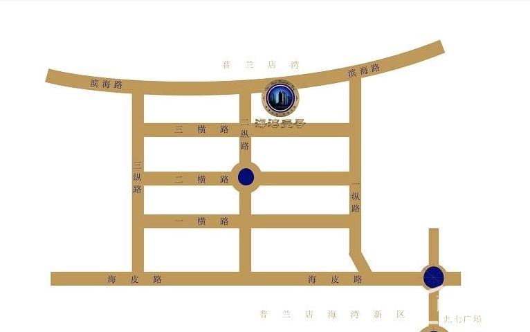 海湾壹号位置图