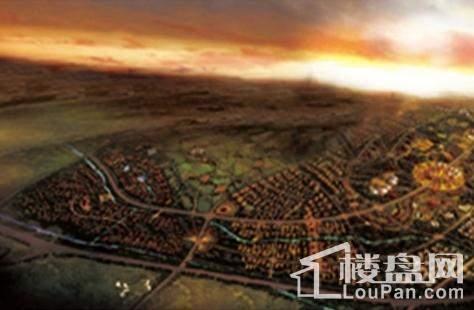 国瑞生态城效果图