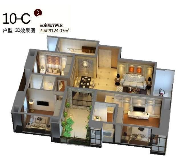 10-C户型