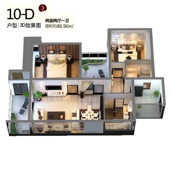 10-D户型