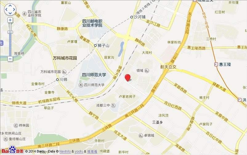 锦江国际花园位置图