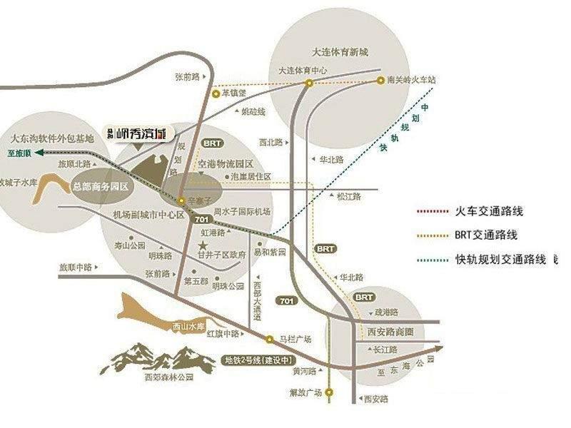 易和岭秀滨城位置图