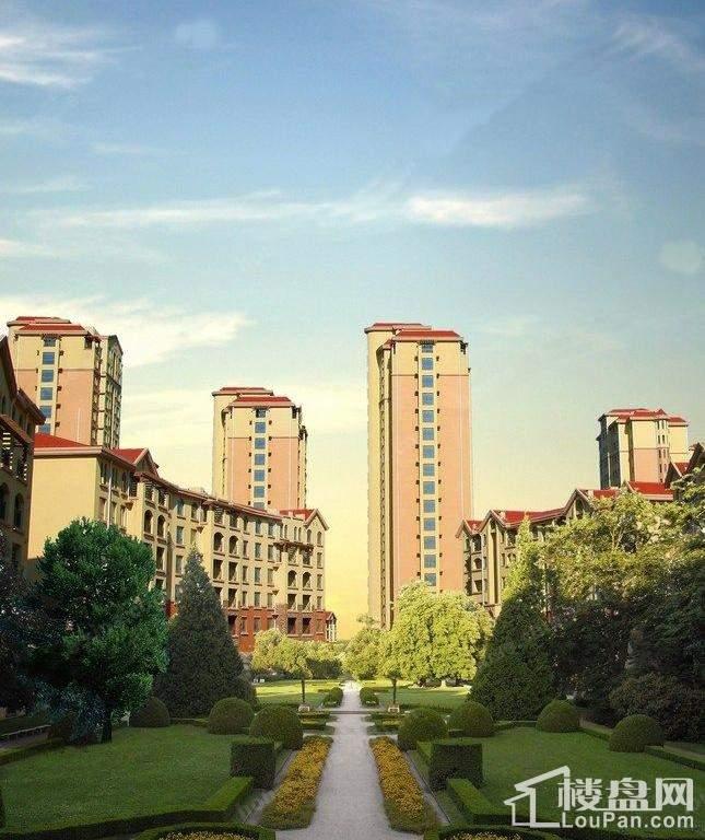 枫丹丽城实景图