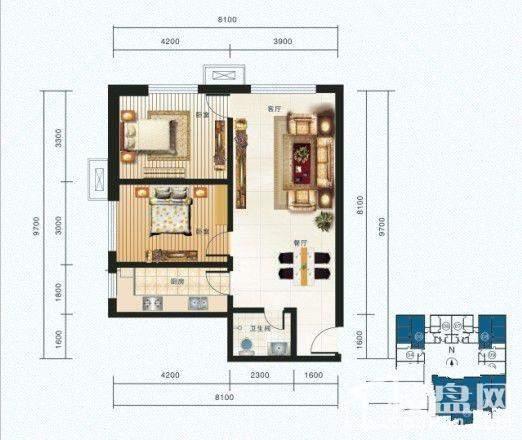 海鸿居然之家户型图