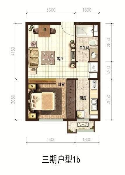 金泰城三期A6户型图