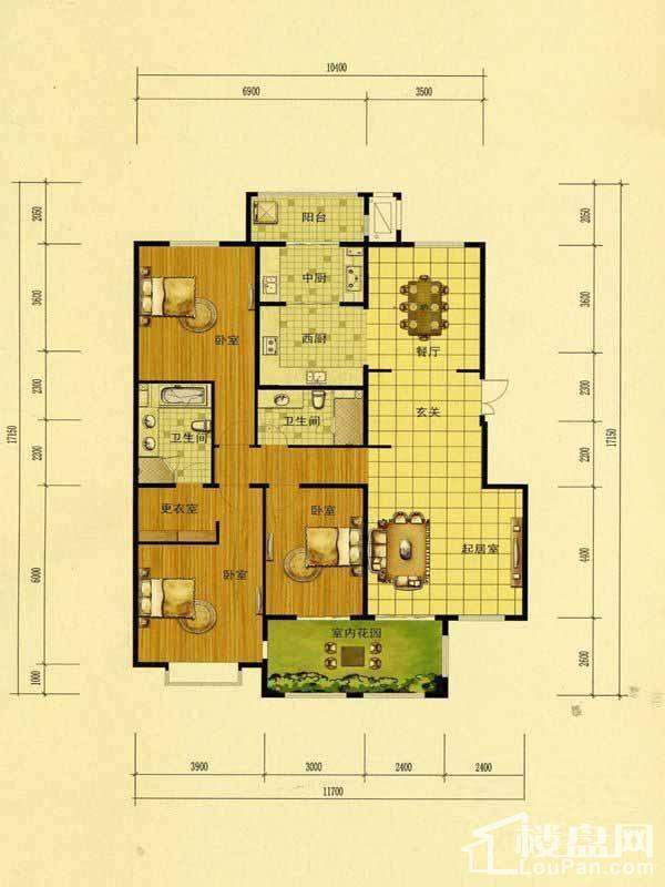 35号楼户型图