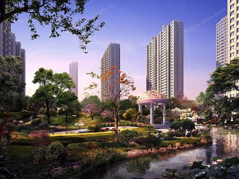 华海城效果图