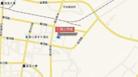 锦山秀城位置图