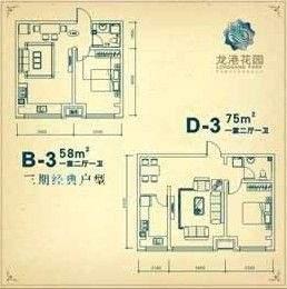 龙港花园户型图
