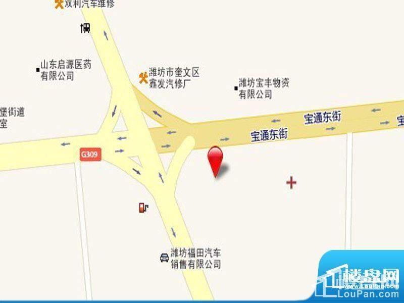 和扬万悦城区位图