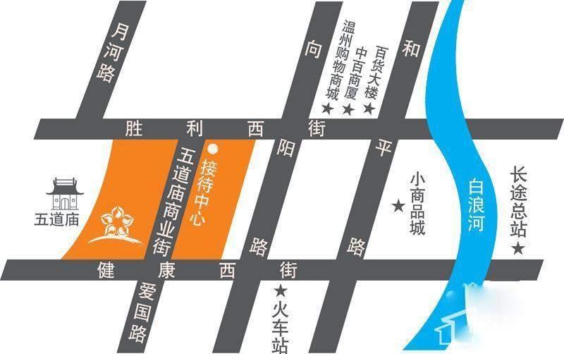 万锦皮革城交通区位图