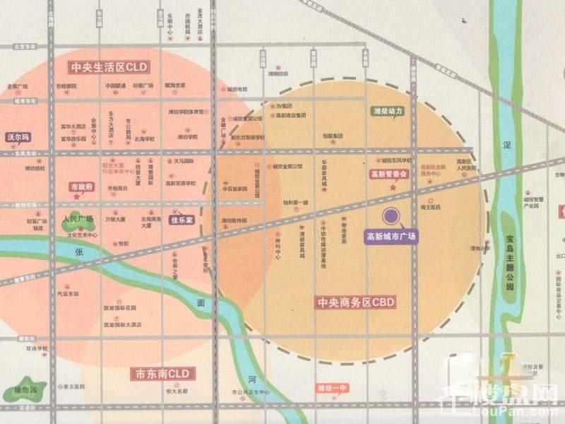 高新城市广场位置图