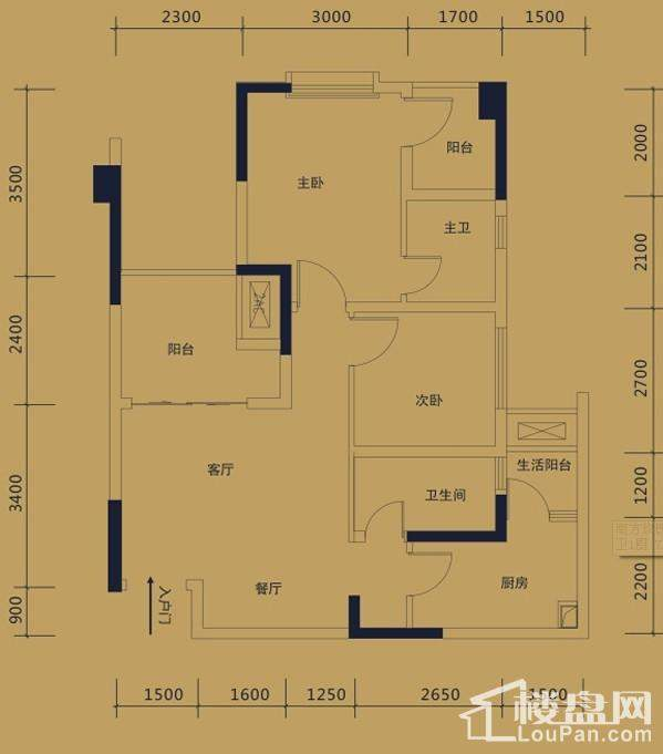 黛瑰苑9/10号楼标准层4/5号房