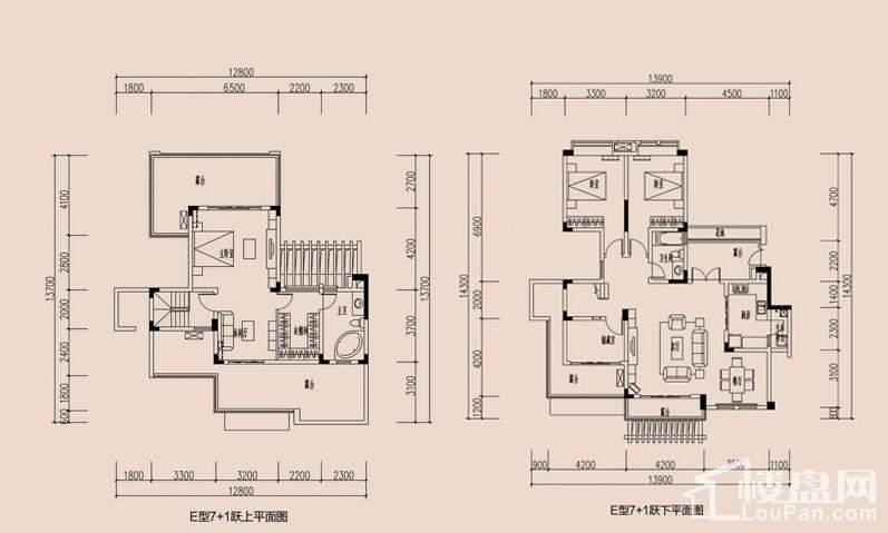 二期17/21/24栋跃层E7户型
