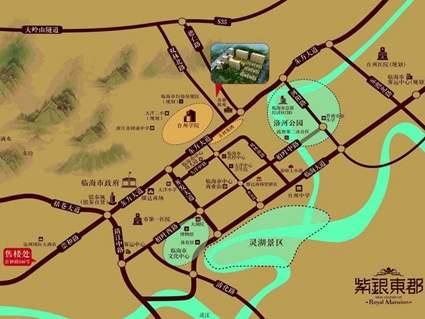 紫银东郡位置图