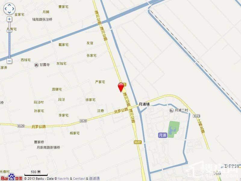 中冶锦园位置图