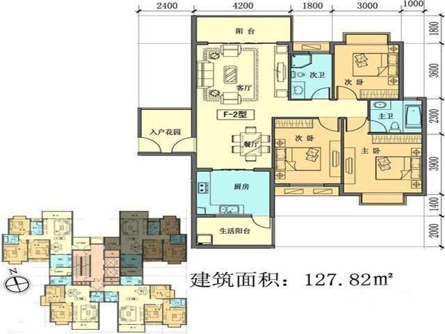 聚福新城户型图
