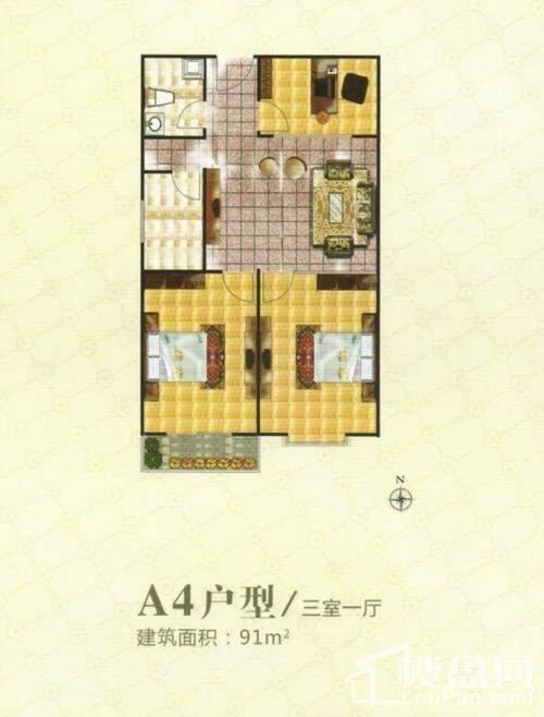 宝盛花语城户型图