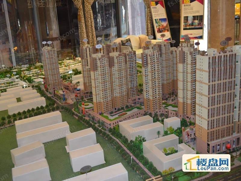 东建普君新城实景图