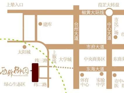 西锦御园位置图