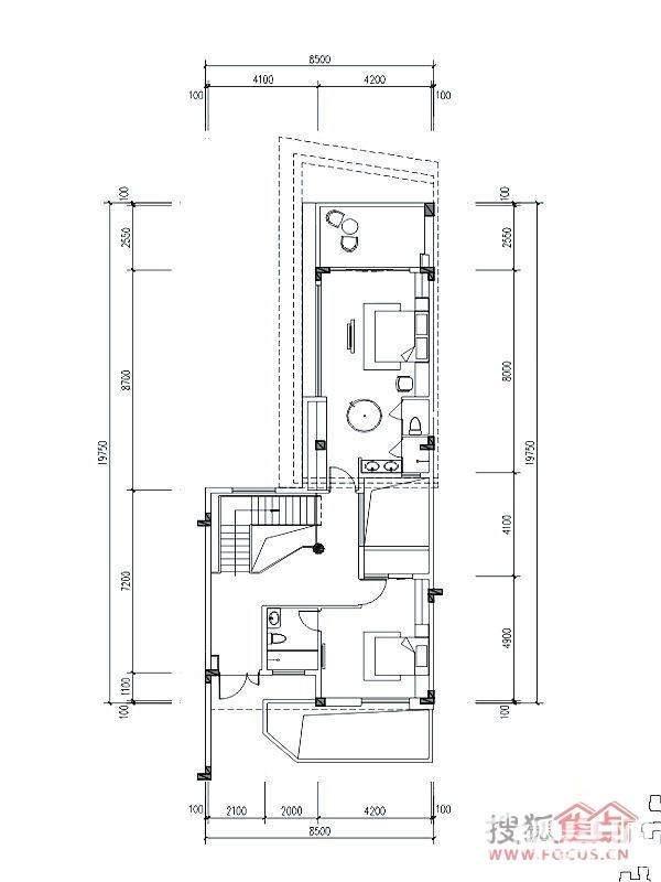 L2二层户型图