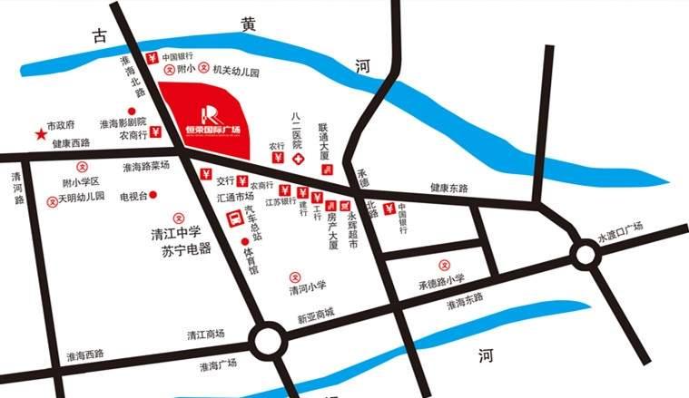 恒荣国际广场位置图