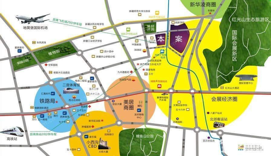紫煜臻城位置图